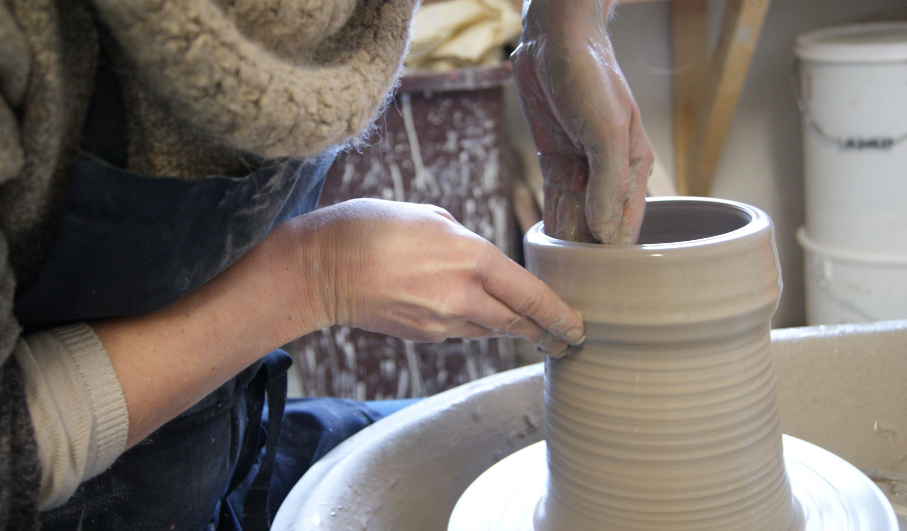 Pottery Demonstrations by Busy Bee Ceramics